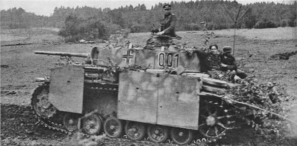 German commander's tank Pz Kpfw.III Ausf.M