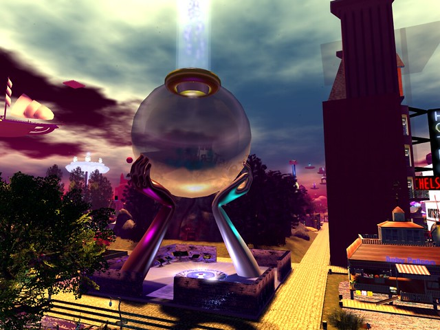 SL13B - Spellbound - Alchemy Sphere On An Island Cusp