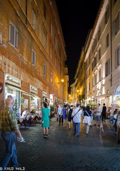 Streetlife in Sorrento