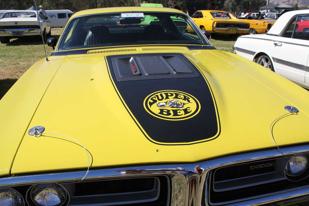 1971 Dodge Charger Super Bee Chryslers On The Murray 2015