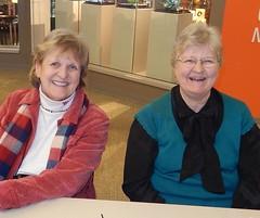 Joan Lumpkin & Carol Stevenson