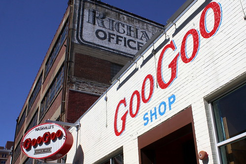 Nashville's Goo Goo Store front
