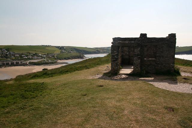 Ruined chapel on Burgh Island