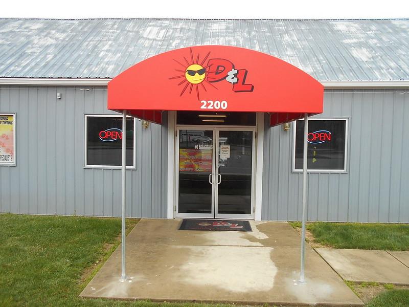 Entrance Canopy Window Tinting Company1-Entrance