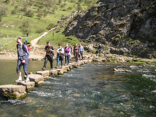 Dovedale - Stepping stones   by michaeljohnbutton