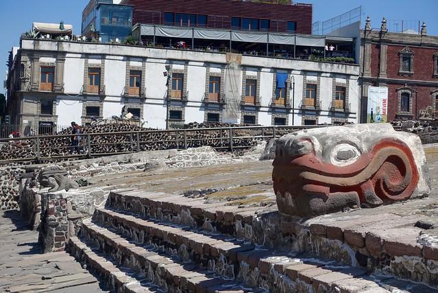 Templo Mayor Aztec ruins