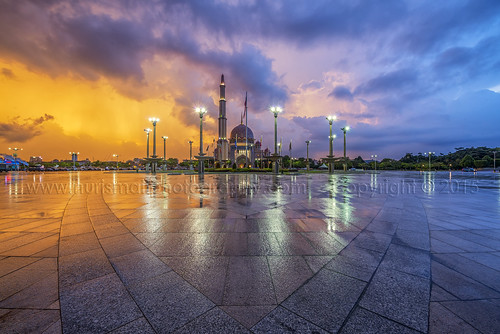 decorations reflection texture clouds lights evening minaret flag muslim prayer mosque dome colourful islamic placeofworship d800e nurismailphotography nurismailmohammed nurismail