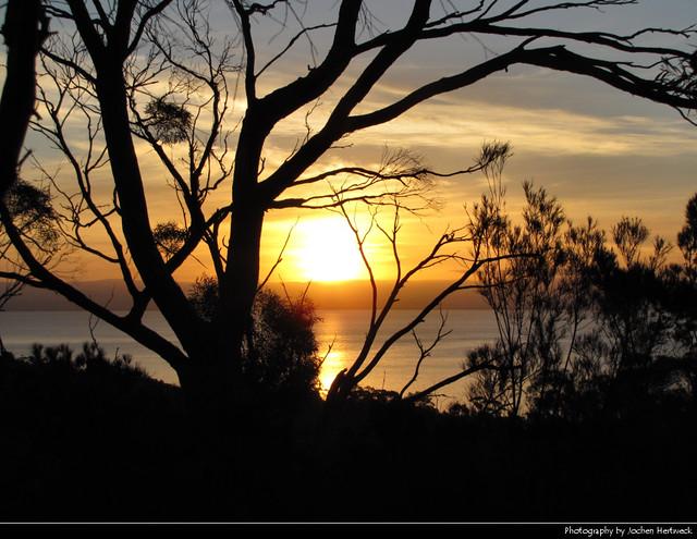 Sunset, Freycinet NP, Tasmania, Australia