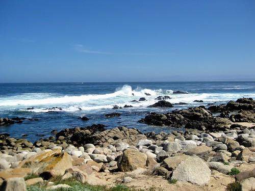 ocean water monterey rocks waves montereybay pacificocean pacificgrove montereypeninsula waterpictorial joelach