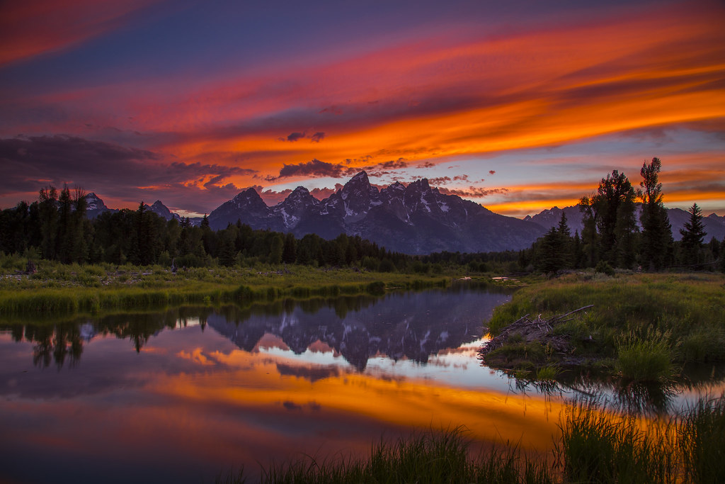 Sunset - Grand Teton National Park