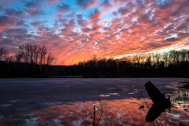 Sunset, Occoquan River