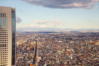 Tokyo Cityscape With Mount Fuji - Japan | by Vivienne Gucwa