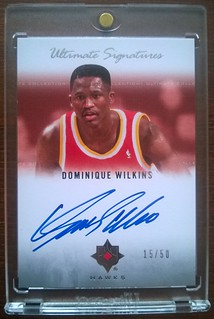 2007-08 Ultimate Collection Signatures #DO Dominique Wilkins /50 | by milkowski.pawel