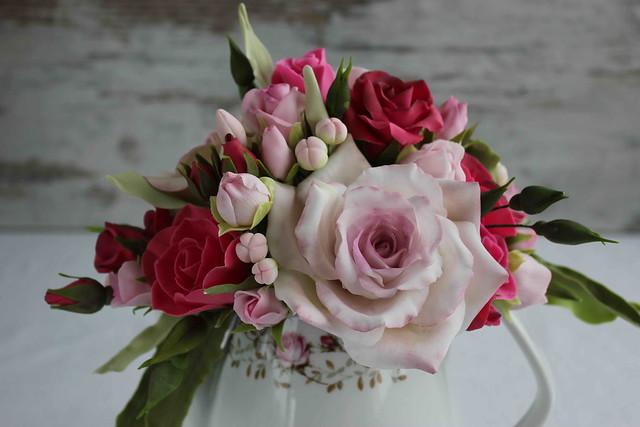 Sugar rose bouquet