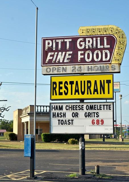 Pitt Grill - Atlanta,Texas.