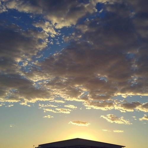cloud clouds sunrise square silouette squareformat cloudscape cloudporn iphoneography instagramapp uploaded:by=instagram