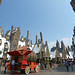 The Butterbeer Cart with Surrounding Buildings