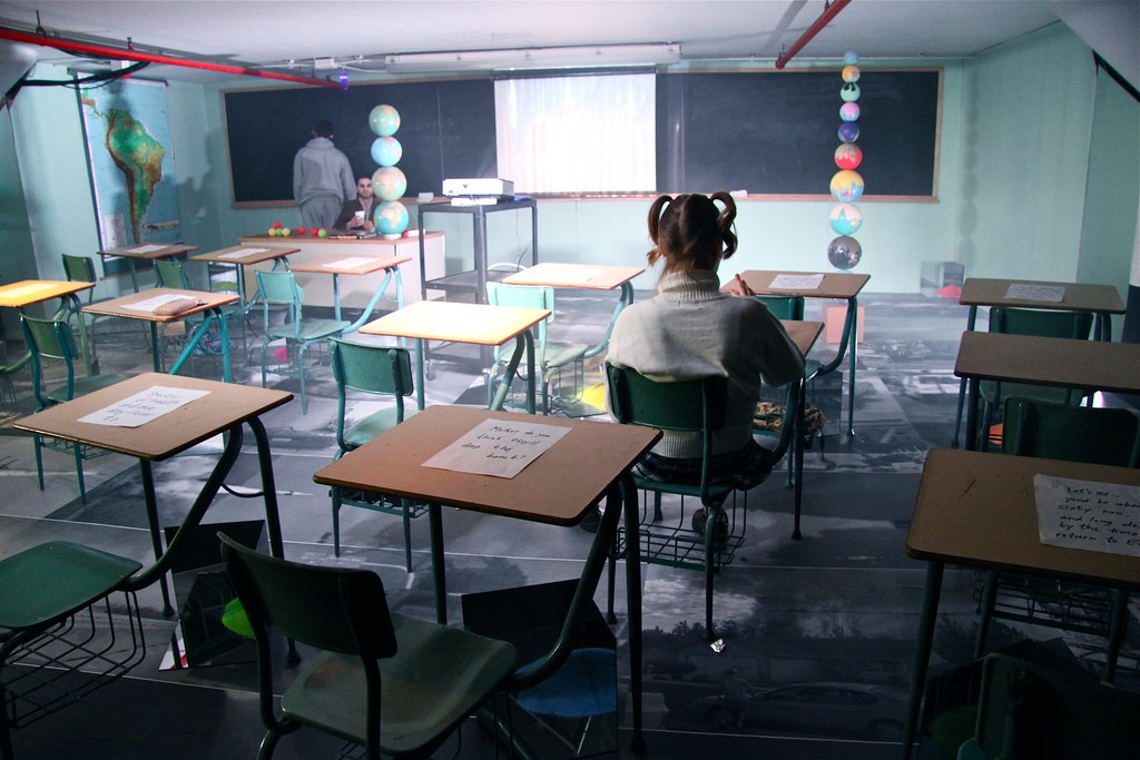 """""""Museum of the Rapture"""" Classroom"""