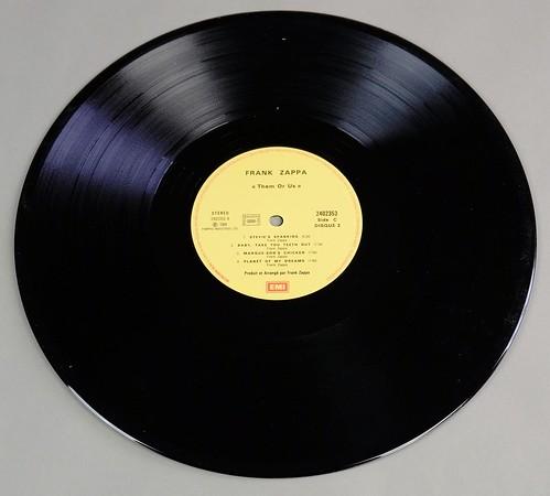 Frank Zappa Them Or Us Dlp France Foc 12 Quot 2lp Vinyl Flickr