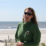 USFWS Northeast Regional Director Wendi Weber at Stone Harbor Point restoration project tour (NJ)