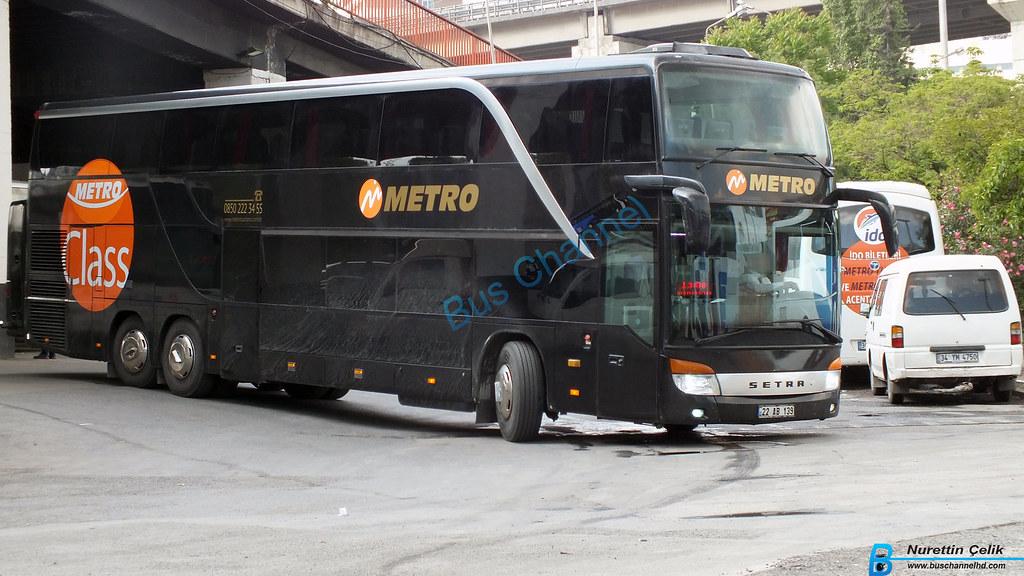 Setra 431 Dt Siyah Metro Class Setra 431 Dt Siyah Metro Cl