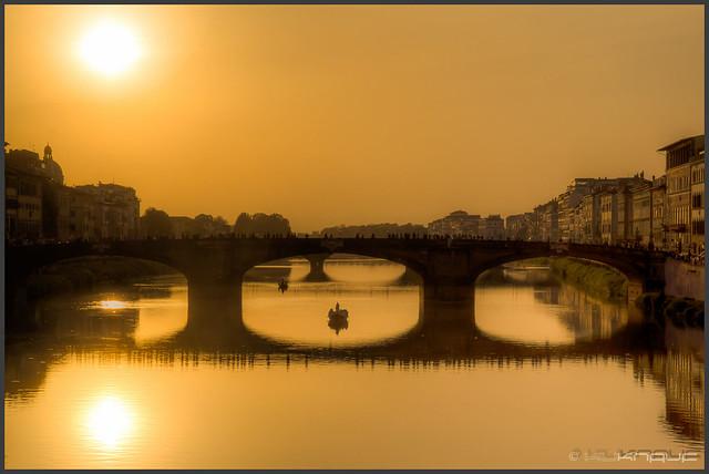 Florenz am Abend - Firenze in the evening