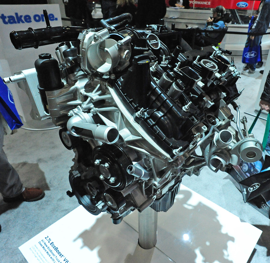 2.7 L Ecoboost V6 >> 2 7l Ecoboost V6 2015 Vancouver International Auto Show V Flickr