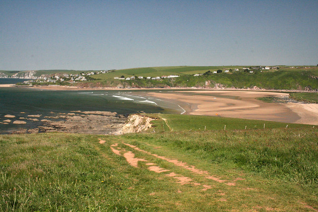 View back to Bantham