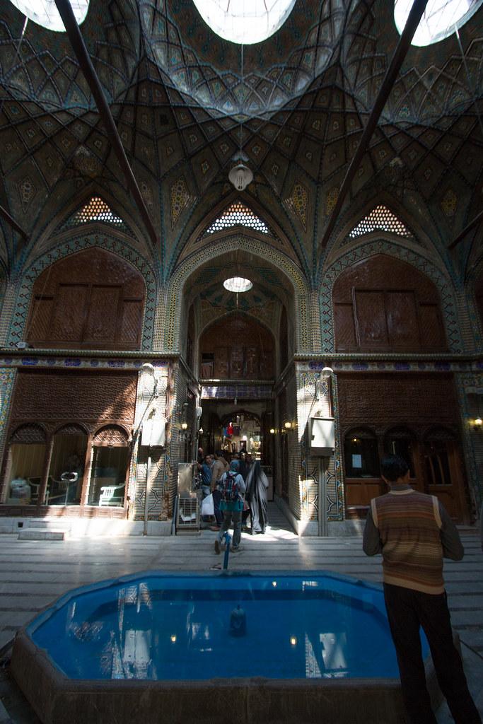 Vieux bazar d'Ispahan