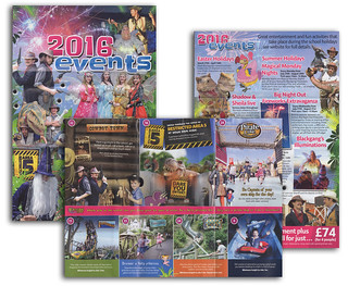 Blackgang Chine Theme Park - 2016 Events Brochure | by s0ulsurfing