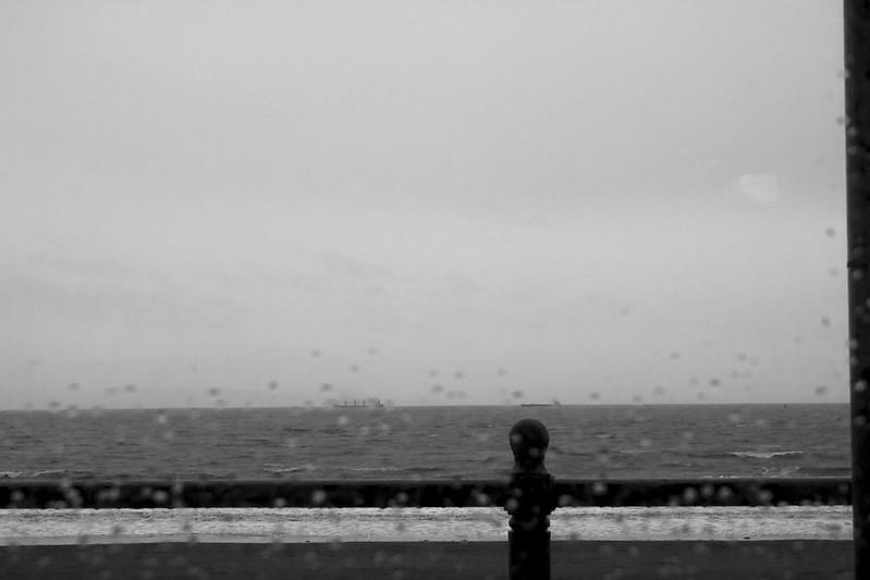 Rainy day at Barry Island