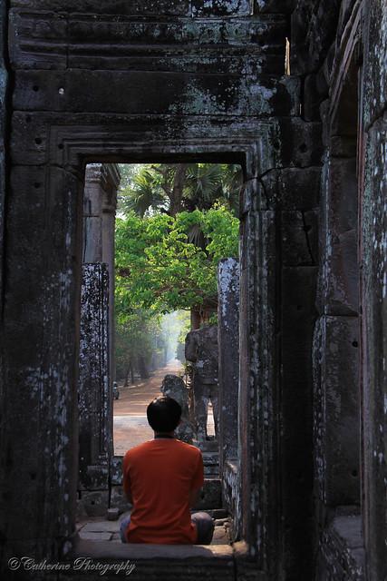I am not a monk - Angkor Wat