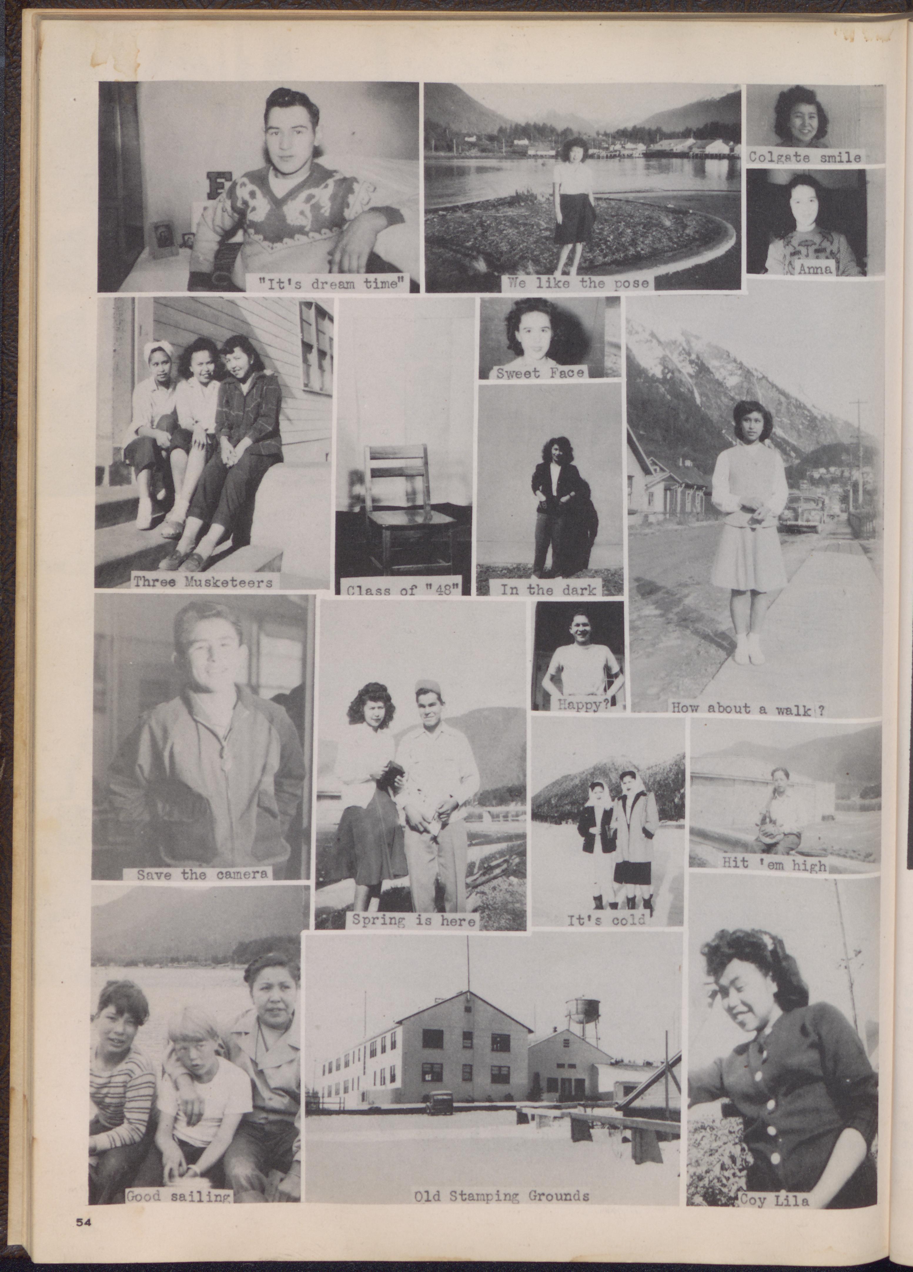 Taheta, 1949. Page 58.