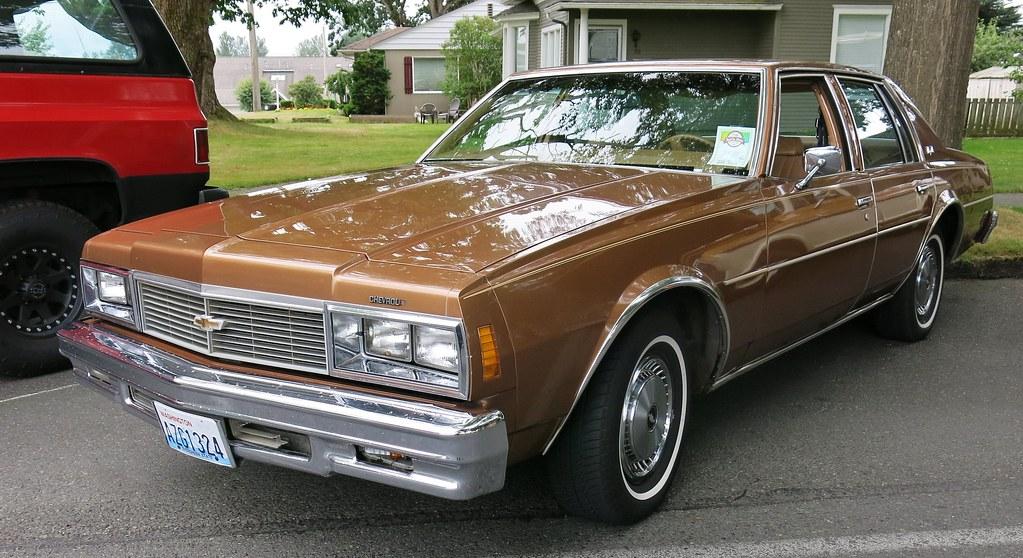 1978 Chevrolet Impala 4 Door Sedan Custom Cab Flickr