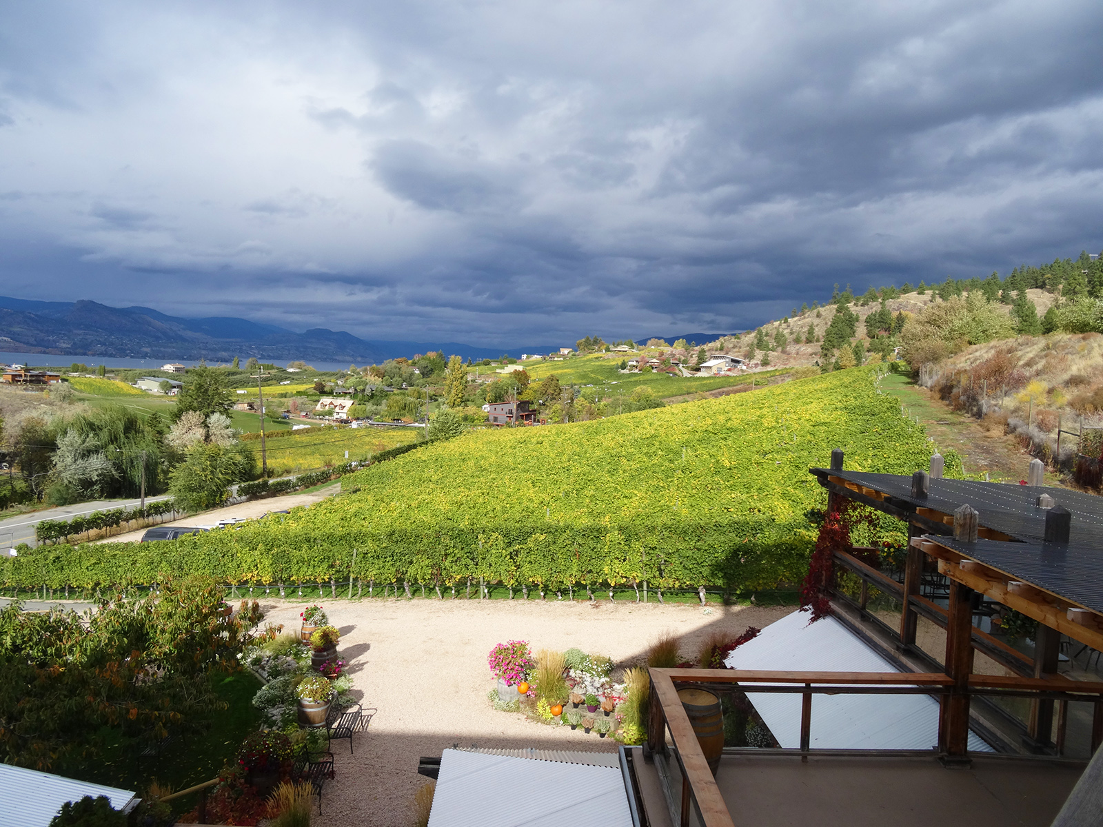 BC winery visit
