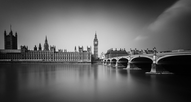 Palace of Westminster | B&W [Explored]