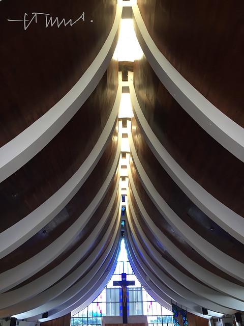 Sacred Heart of Mary Church, Iglesia Corazón de María, El Salvador