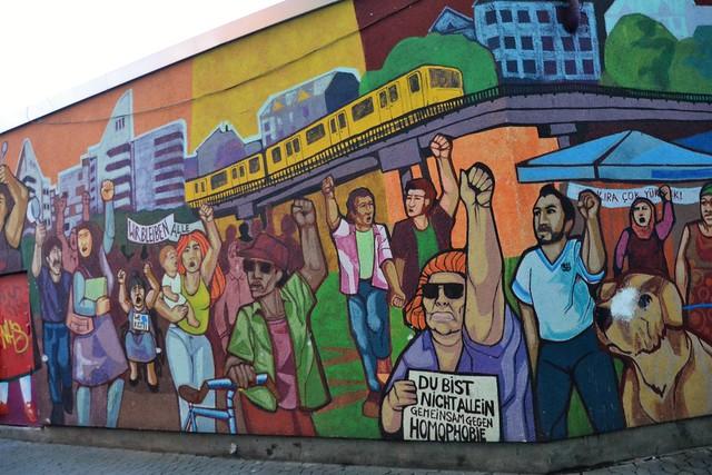 Struggle for diversity & social cause, Berlin Kreuzberg