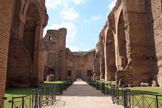 Caracalla-Thermen | by Christine Wagner