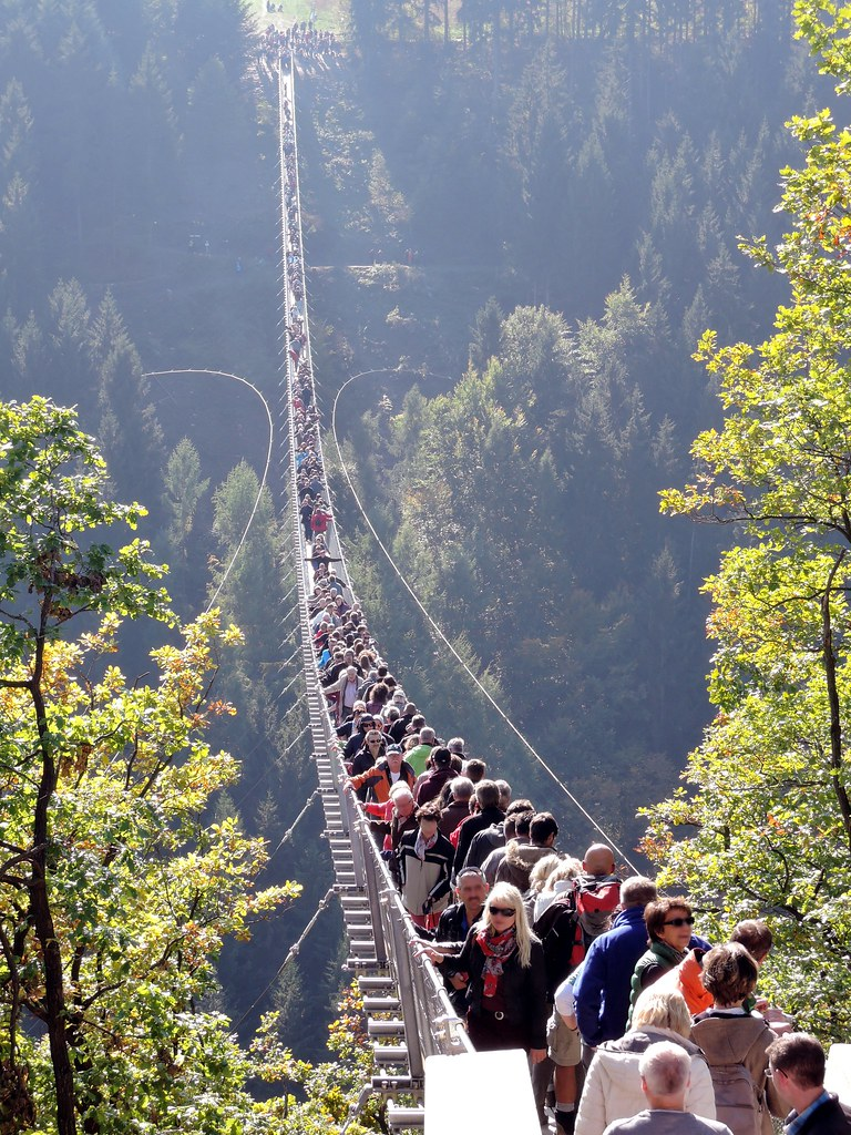 Hunsrück: Geierlay-Brücke