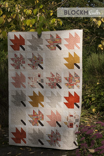 My 'October' quilt is finished!