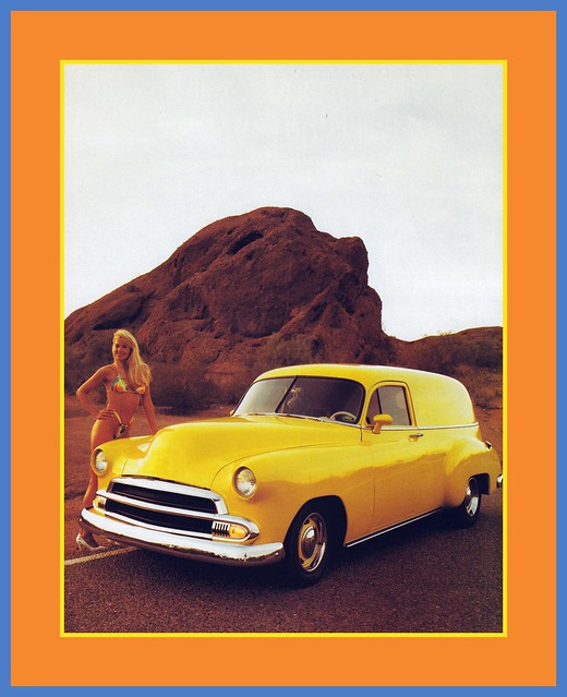 '50 Chevrolet Show Car, 1990