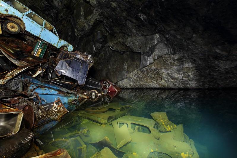 Cueva en Gales