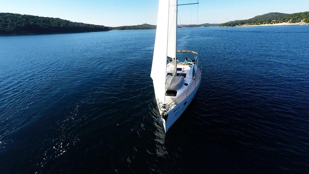 bow sailboat elan 45 impression sailing yacht sails | Flickr
