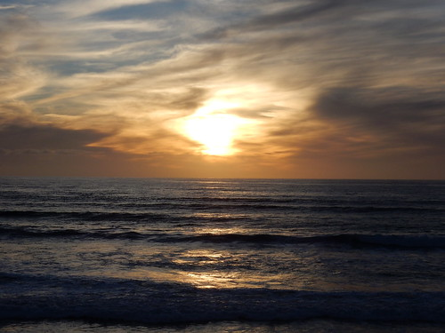 South Carlsbad State Beach - the Pacific
