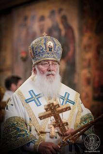 Литургия в Софийском соборе 345