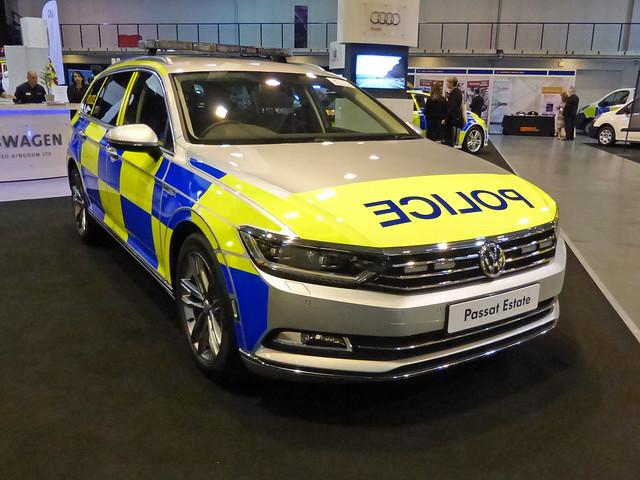 Police VW Passat