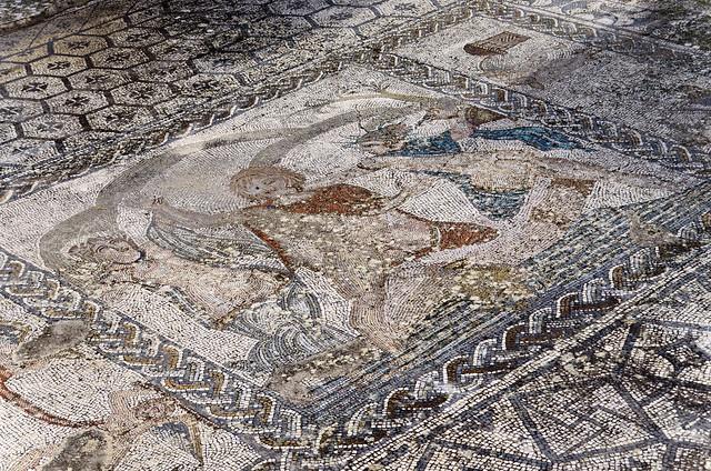 Volubilis: House of Venus, Abduction of Hylas mosaic, 2