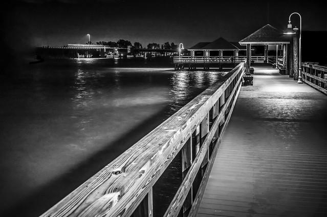 Pier Before Dawn