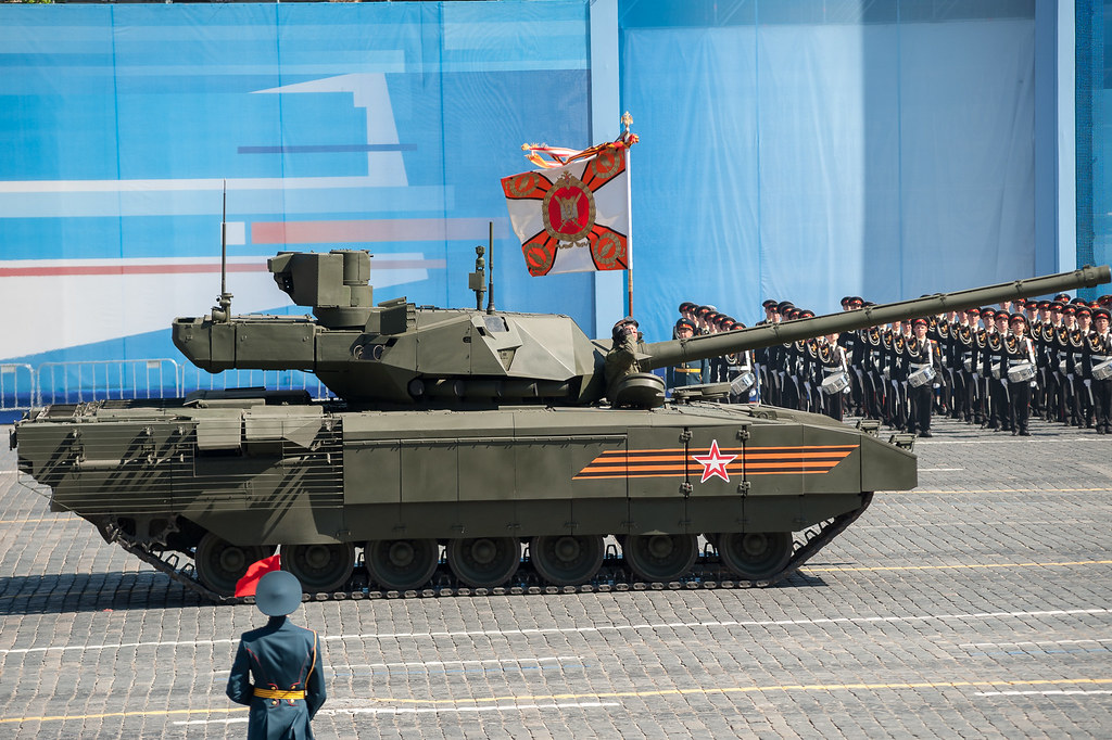 T-14 Armata armored tank | General rehearsal parade in Mosco… | Flickr